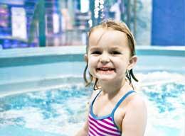 På Pearl Seaways finnes to boblebad og ett badebasseng (ikke barnebasseng).